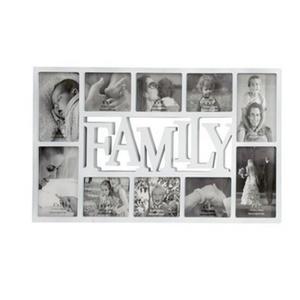 מסגרת 10 תמונות FAMILY