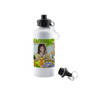 """בקבוק עם קש כולל הדפסת תמונה - 600 מ""""ל"""
