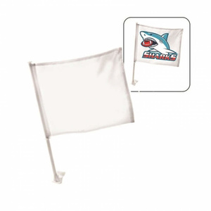 דגל לרכב עם תמונה מודפסת