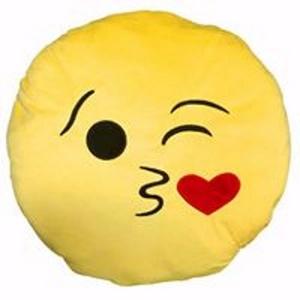 כרית אימוג'י נשיקה