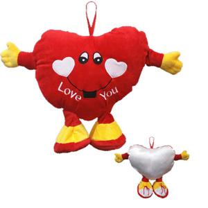 בובה עם לב ' LOVE YOU ' - לתלייה