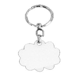 מחזיקי מפתחות עץ צד-אחד ענן