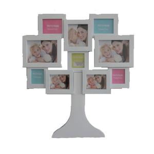 מסגרת עץ משפחתית ל 10 תמונות