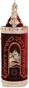 """ארגז לס""""ת ספרדי דגם שער בית המקדש"""
