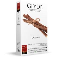 גלייד ליקוריץ - קונדום טבעי בצבע שחור ובטעם ליקוריץ