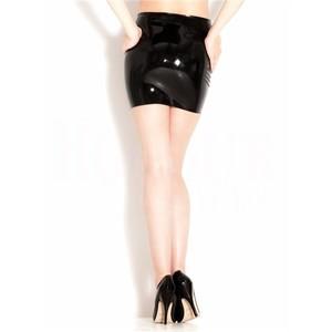 חצאית מיני סקסית מגומי