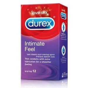 קונדום דורקס לתחושה אינטימית Durex Intimate Feel