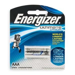 זוג סוללות AAA ליתיום אנרג'זר Energizer ultimate lithium