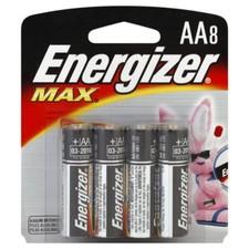 סוללות AA אנרג'ייזר מארז 8