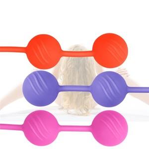 כדורי גיישה וגינאליים מסיליקון לחיזוק שרירי רצפת האגן