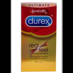 קונדום ללא לייטקס דורקס מיוצר ללא לטקס Durex RealFeel