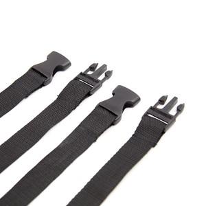 סט ארבעה אזיקים עם רצועות לקשירה