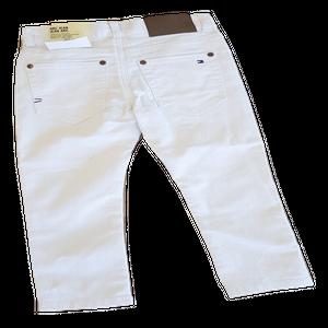 ג'ינס בנים טומי הילפיגר בצבע לבן