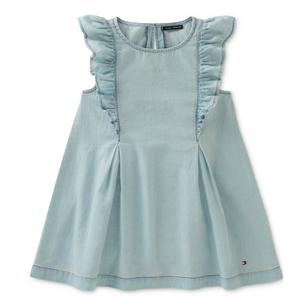שמלת גי'נס כחול בהיר טומי הילפיגר
