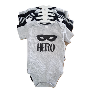 MODERN BABY סט 5 בגדי גוף