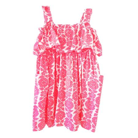 שמלת קרטרס ורודה פרחונית