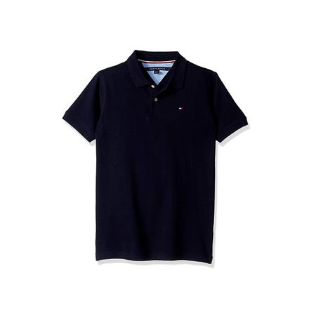 חולצת פולו טומי הילפיגר כחול כהה