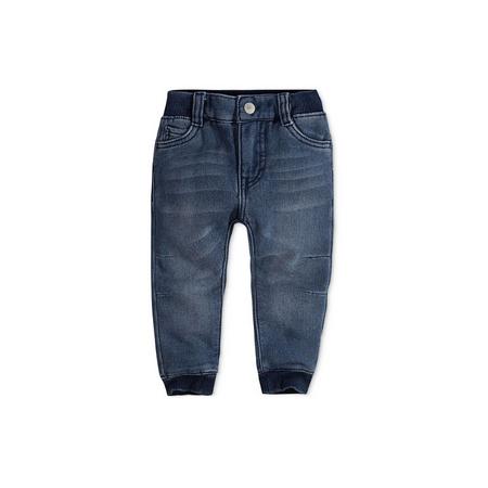 LEVI'S -ג'ינס ארוך בנים כחול כהה משופשף