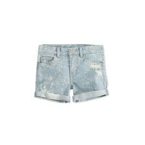ליוויס ג'ינס שורט כחול בהיר משופשף