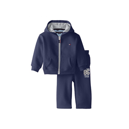 TOMMY HILFIGER- חליפת טומי פוטר בצבע כחול