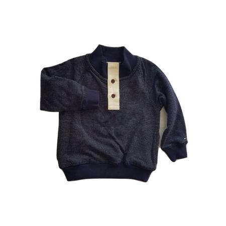 TOMMY HILFIGER- חולצת סוטשירט בייבי כחולה