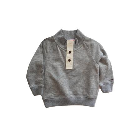 TOMMY HILFIGER- חולצת סוטשירט בייבי אפורה