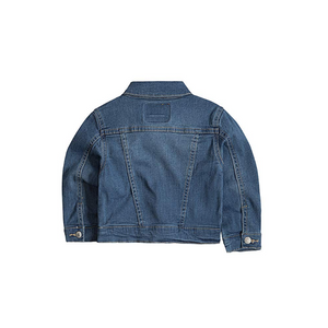 LEVI'S- ג'קט גינס ארוך כחול בהיר