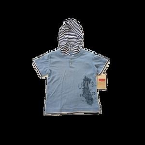 חולצת ליוויס 2 כפתורים עם קפוצו'ן