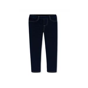 ג'ינס כחול כהה סטראץ סקיני נקי ארוך