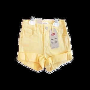 ליוויס ג'ינס שורט צהוב