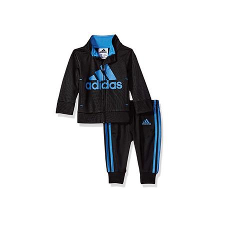ADIDAS- חליפת ספורט אדידס ארוכה שחור כחול
