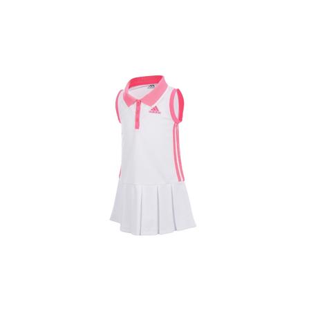 ADIDAS שמלת טניס לבן ורוד
