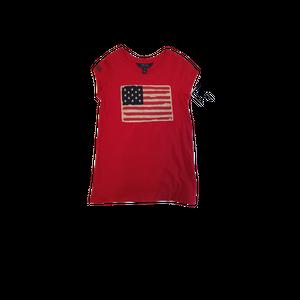 """חולצת ראלף לורן  אדומה דגל ארה""""ב"""