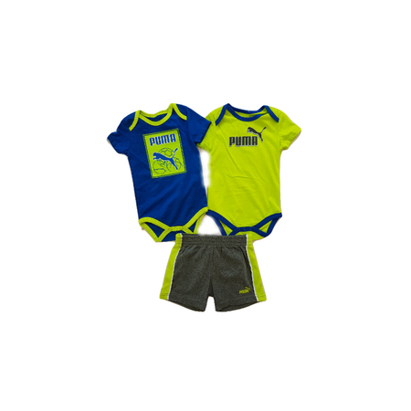 PUMA סט 3 חלקים: מכנס קצר ו 2 בגדי גוף