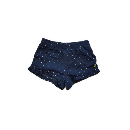 NAUTICA מכנס שורט כחול עם נקודות