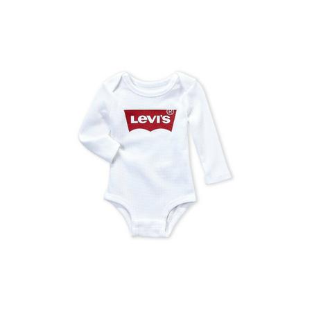 LEVI'S- בגד גוף ליוויס בייבי לבן