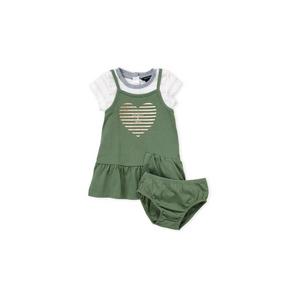 NAUTICA - סט 2 חלקים ירוק לוגו לב