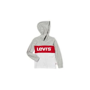 LEVI'S- חולצת ליוויס קפוצ'ון אפור לבן