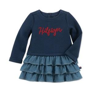 TOMMY HILFIGER- חולצת שמלה דגם knit deni