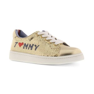 TOMMY HILFIGER- נעליים זהב נוצץ דגם alvina