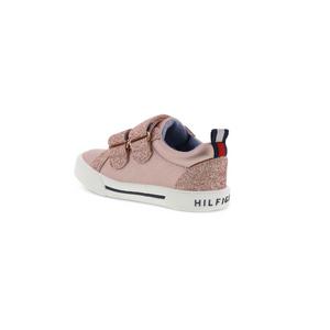 TOMMY HILFIGER- נעלי סניקרס ורודות דגם rocky lovel