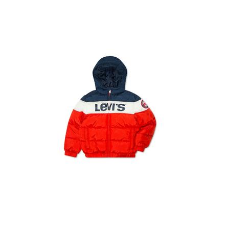 LEVI'S- מעיל הדגל פוף קפוצ'ון