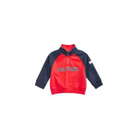 TOMMY HILFIGER- חולצה ארוכה סווצ'רט דגם half zip