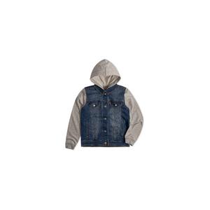 LEVI'S- ג'קט ג'ינס ליוויס קפוצון דגם indigo