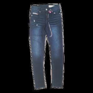 DIESEL- ג'ינס דיזל בנות סקיני סטראץ' כחול כהה