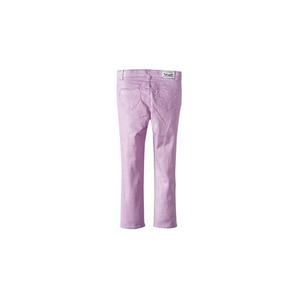 LEVI'S- ג'ינס ליוויס סקיני דגם מיוחד צבע סגול נוצץ וכיסי לבבות