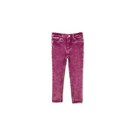 LEVI'S- ג'ינס ליוויס סופר סקיני דגם 710 צבע סגול ורוד משופשף