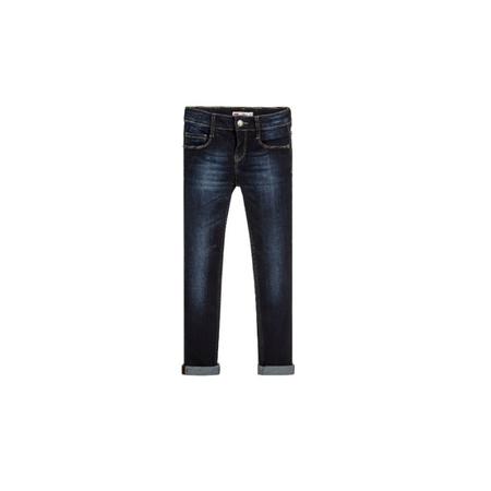 LEVI'S- ג'ינס כחול כהה סופר סקיני דגם 710 preformance