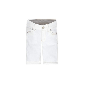 LEVI'S- ג'ינס ליוויס ברמודה צבע לבן דגם skimmer