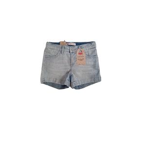 LEVI'S- ג'ינס ליוויס שורט כחול בהיר